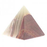 Пирамида камень оникс 7х7х7,5 см (3)