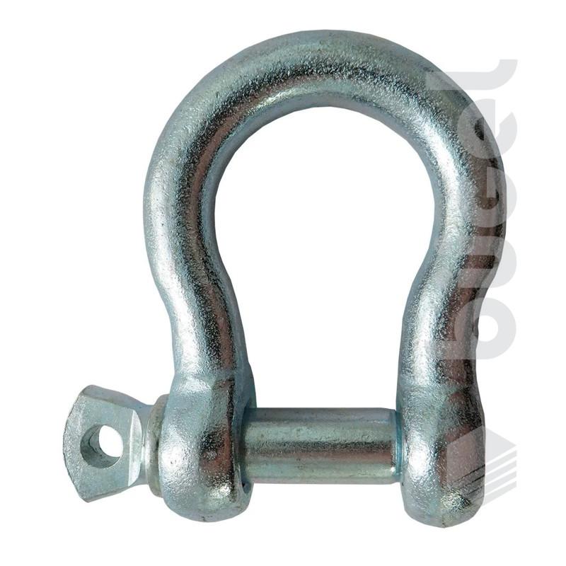 Скоба омегообразная DIN G2130 1 1/8 (г/п 9,5 т)