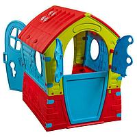 Детский домик Palplay Лилипут со светом и звонком голубой