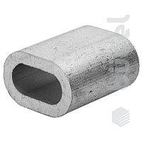 Зажим троса din 3093 алюминиевый 6 мм