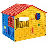 Детский домик Palplay 360 желтый