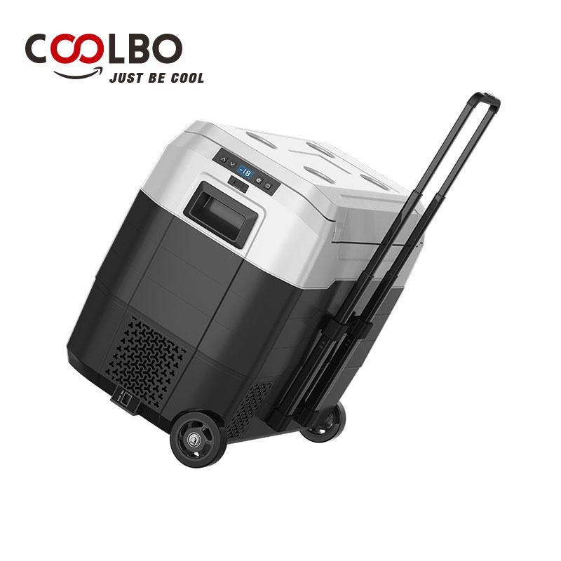 Холодильник / морозильник на колесах 50 литров - COOLBO