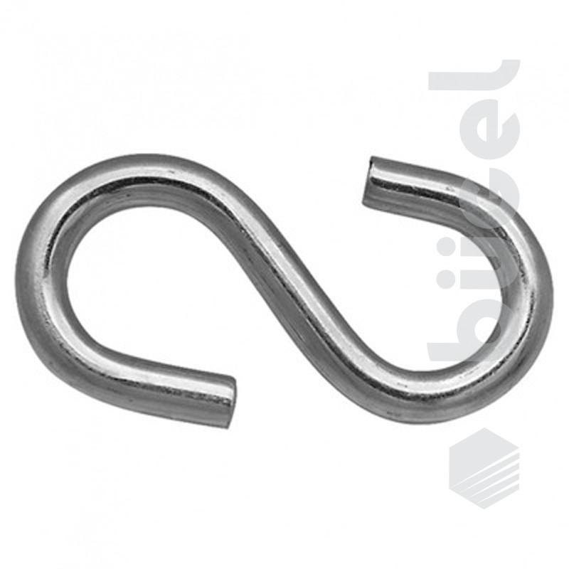 Крюк S тип 6 мм
