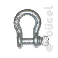 Скоба омегообразная DIN G209 с винтом 3/4 (г/п 4,75т)