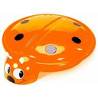 Песочница-бассейн RT Божья коровка с крышкой orange