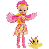 Кукла Enchantimals Фалон Феникс и Санрайз, 15 см, GYJ04