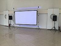 Аренда проектора и экрана