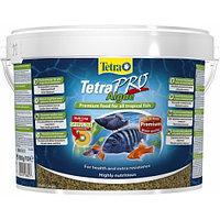 TetraPro Algae 10л - корм с растительными добавками для всех видов рыб