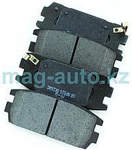 Тормозные колодки задние дисковые    Terracan (2000-2009)