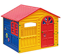 Игровой домик PalPlay 360 Красный/желтый
