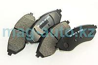 Тормозные колодки передние Aveo (2004-2011)