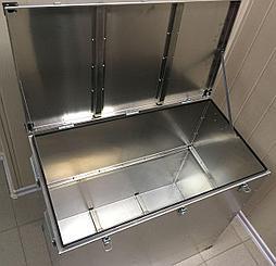 Ящик алюминиевый Олимп 850х450х800