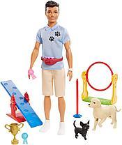Кукла Barbie Кен дрессировщик собак