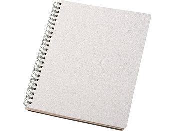 Блокнот Bianco формата A5 на гребне, белый