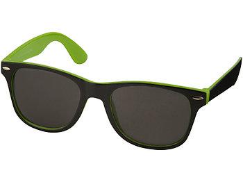 Солнцезащитные очки Sun Ray, лайм/черный (Р)
