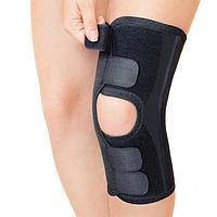 """Бандаж для коленного сустава - """"Крейт"""" (№4, черный) F-527, обхват колена 40-43 см"""