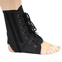 """Бандаж для голеностопного сустава - """"Крейт"""" (№6, черный) F-215, размер обуви 43-46"""