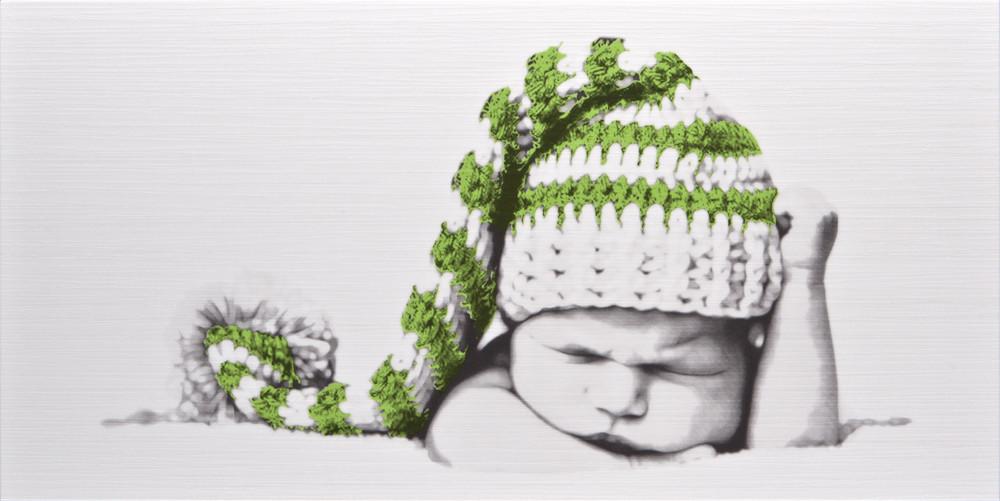 Декор Cuba Baby1 GN (295x595) D6
