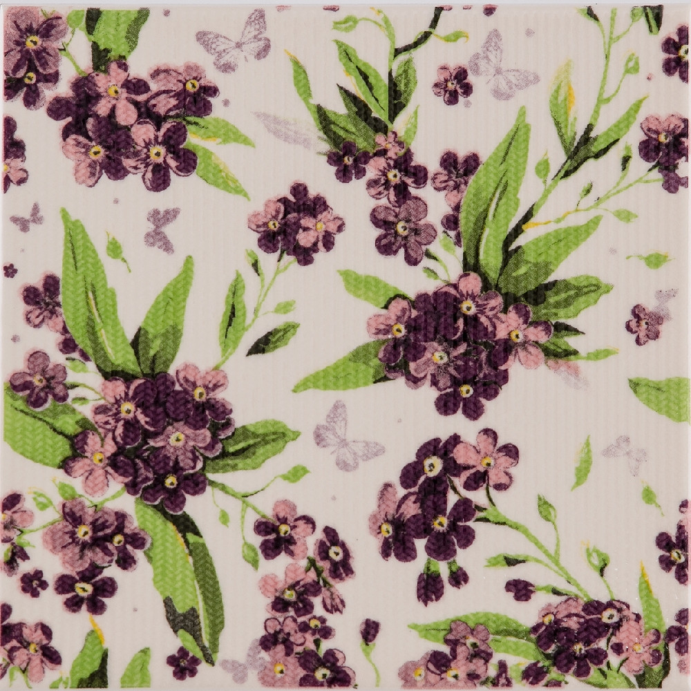 Декор Galliano Forget-me-not B 200x200 D9 /11