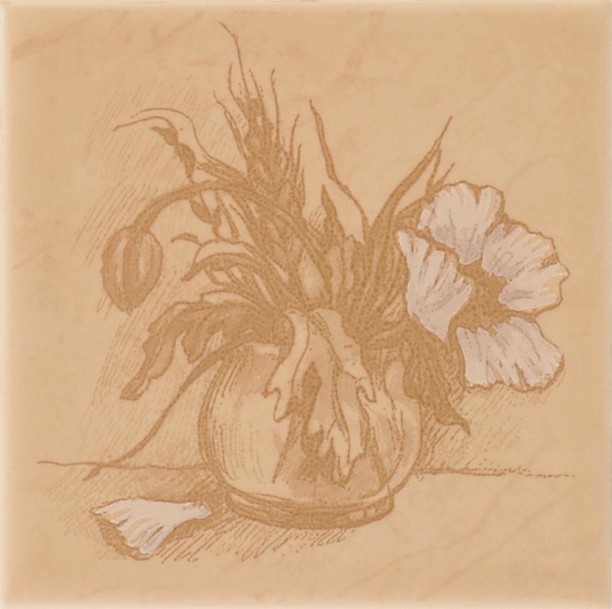 Декор Imola Poppy B 100x100 D7