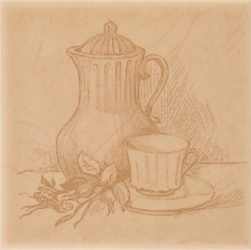 Декор Imola Tea B 100x100 D7