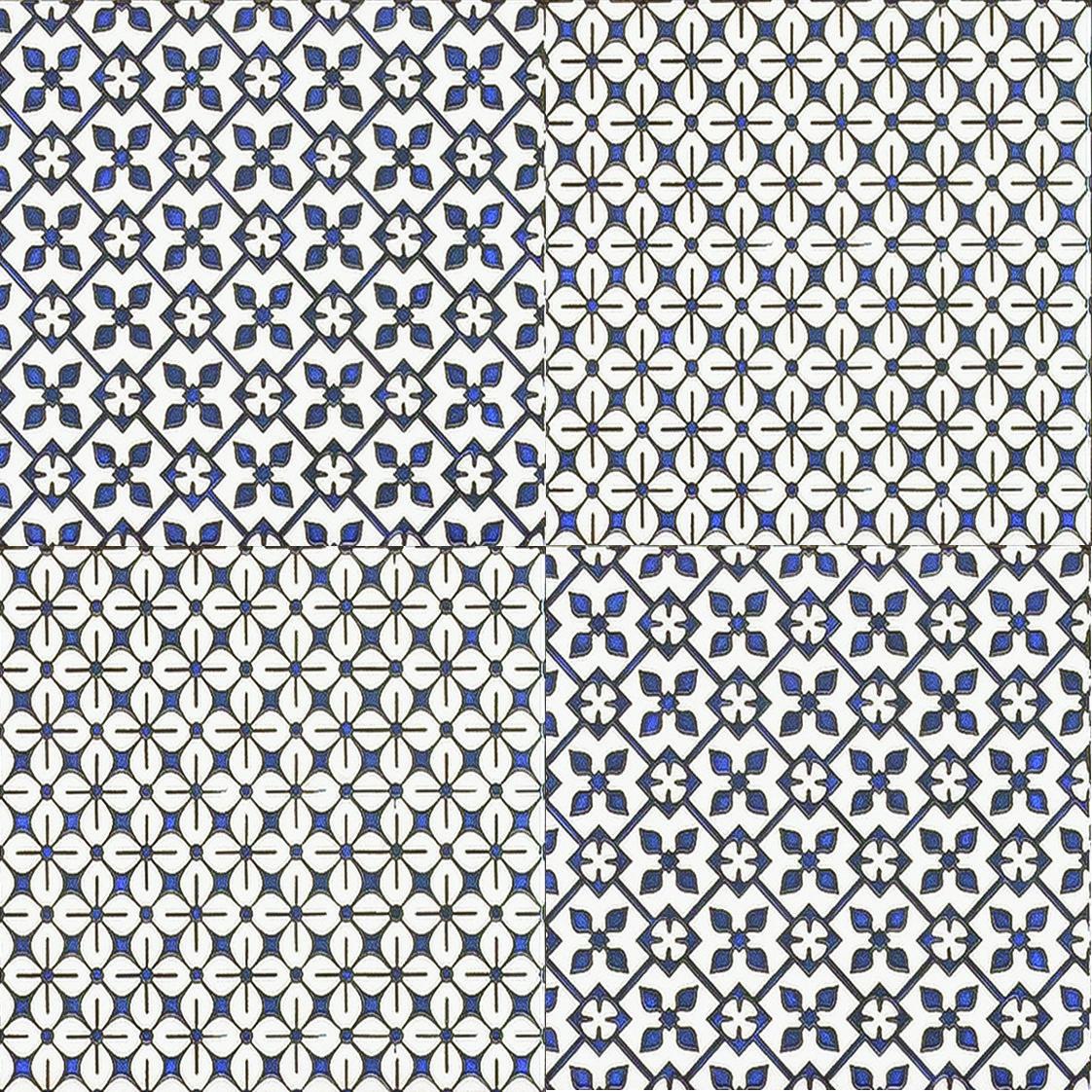 Плитка для пола глазурованная Medea Pattern BLT 400x400 /9