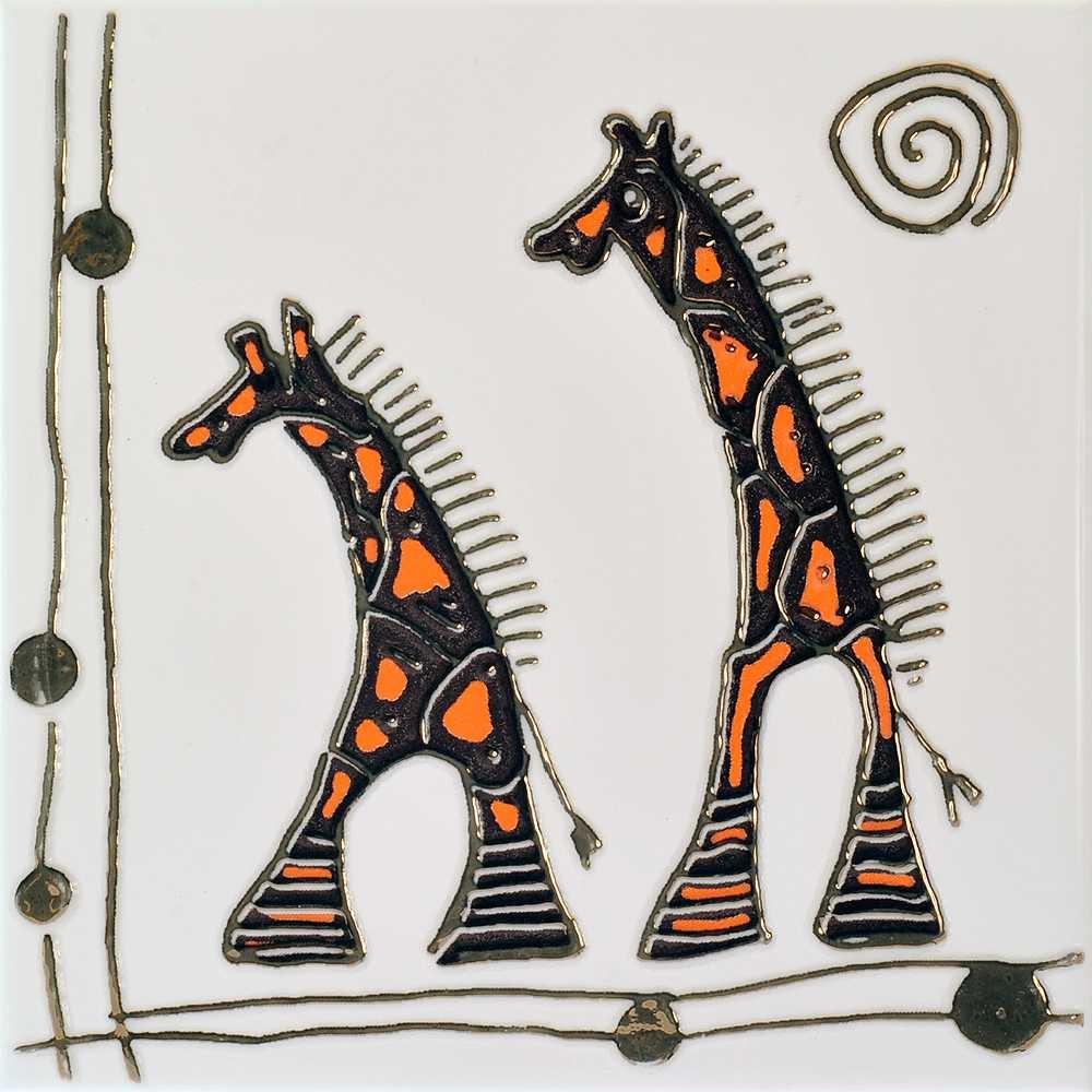 Декор Orly Giraffe W 200x200 D9/LG