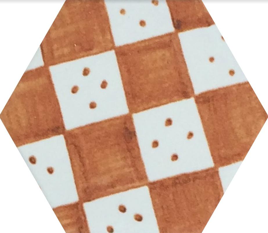Плитка для пола глазурованная Nika Mix OR 100x115