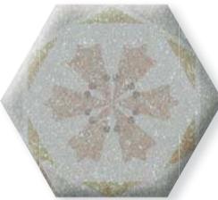 Плитка для пола глазурованная Nolida Mix GRC 100x115