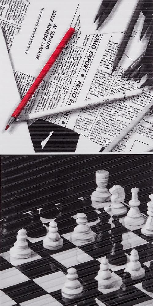 Декор Spain Pencil Chess (295x595) D6
