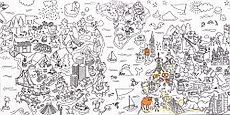 Декор пол Coloring Mix 600x1200 D21