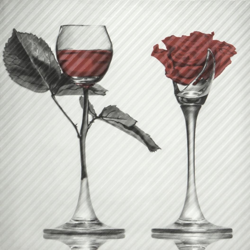 Декор пол Spain Rose 600x600 D11
