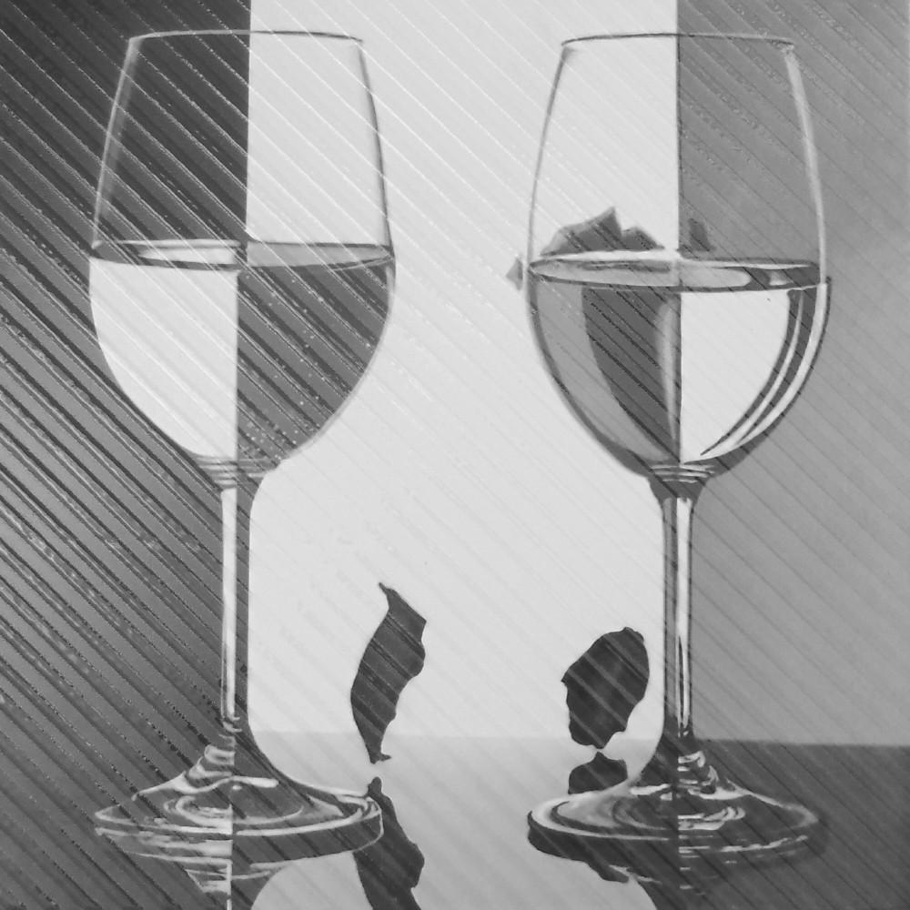 Декор пол Spain Wine 2 Glass 600x600 D11