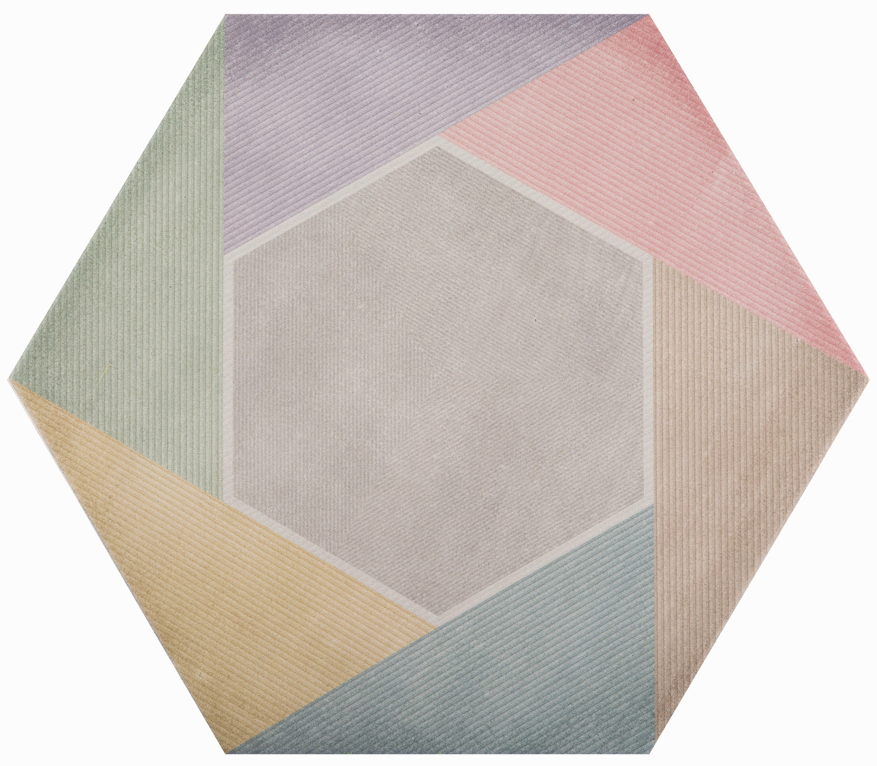 Плитка для пола глазурованная Rainbow Mix 346x400