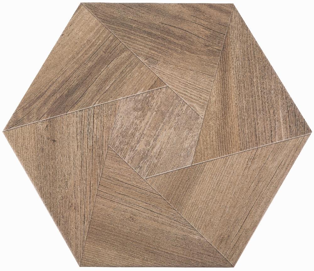 Плитка для пола глазурованная Wood B 346x400