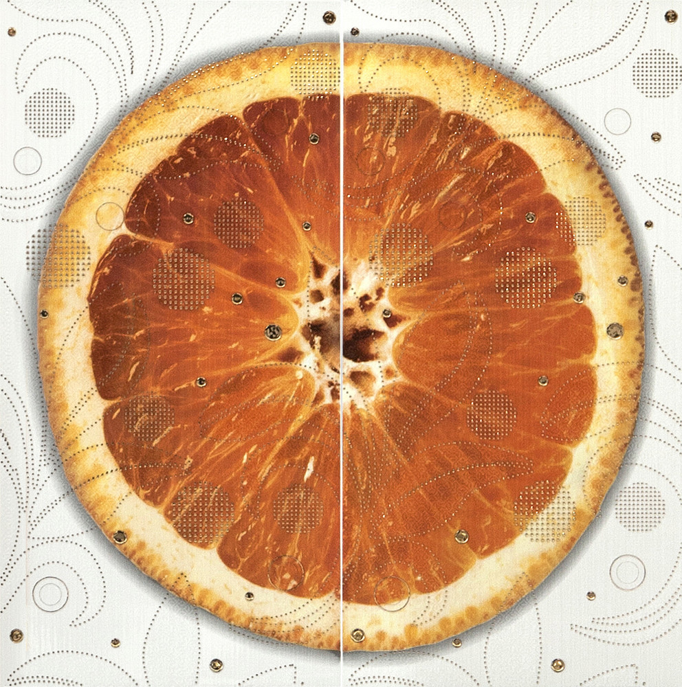 Декор-панно Cuba Orange (590x595) D6/G