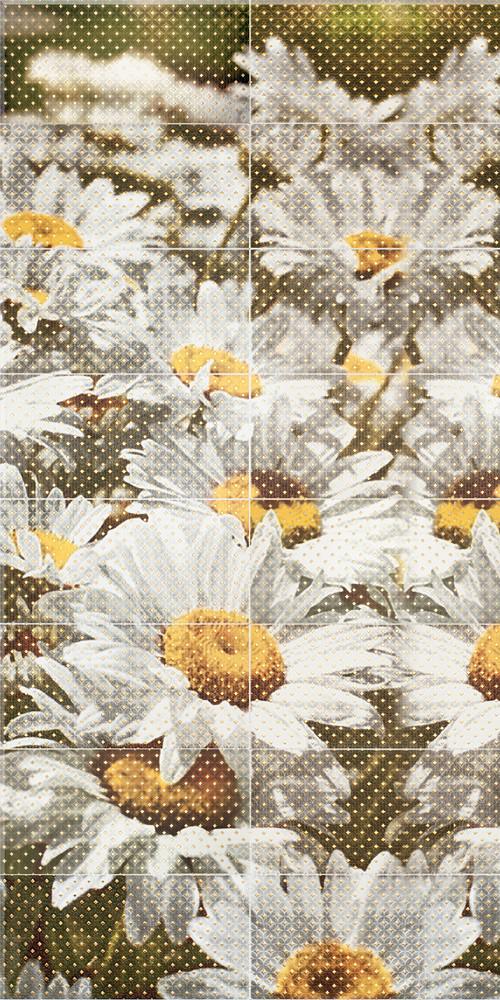 Декор-панно Daisies 1190x2360 D6/LG
