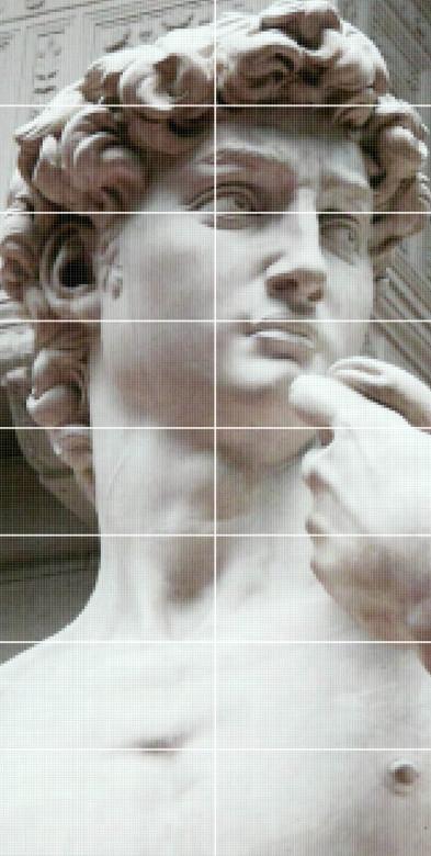 Декор-панно David 1190x2360 D6 /16