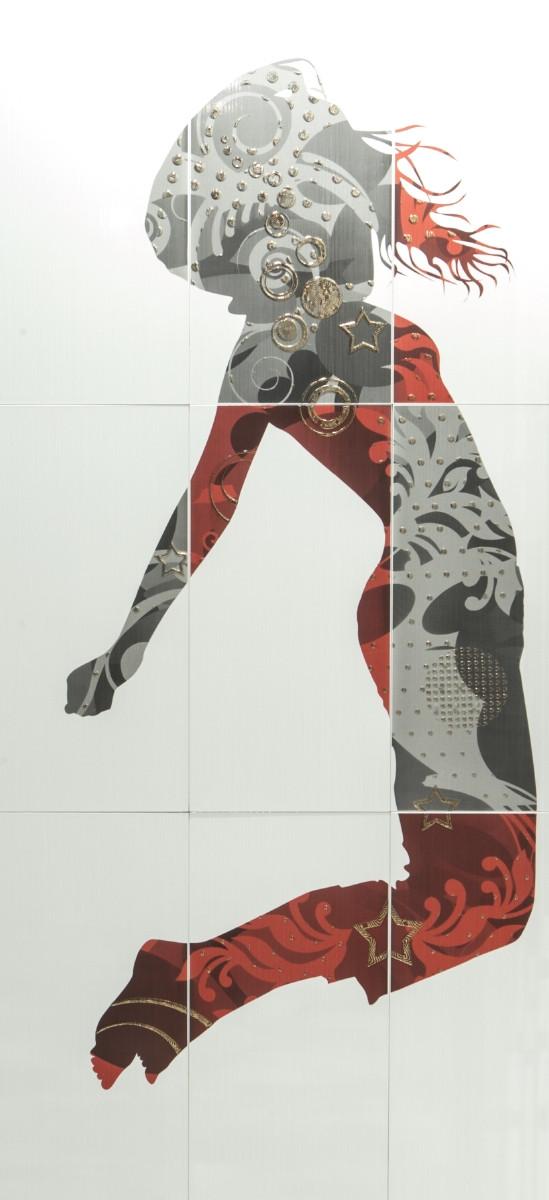 Декор-панно Jamping W 885x1785 D6/G