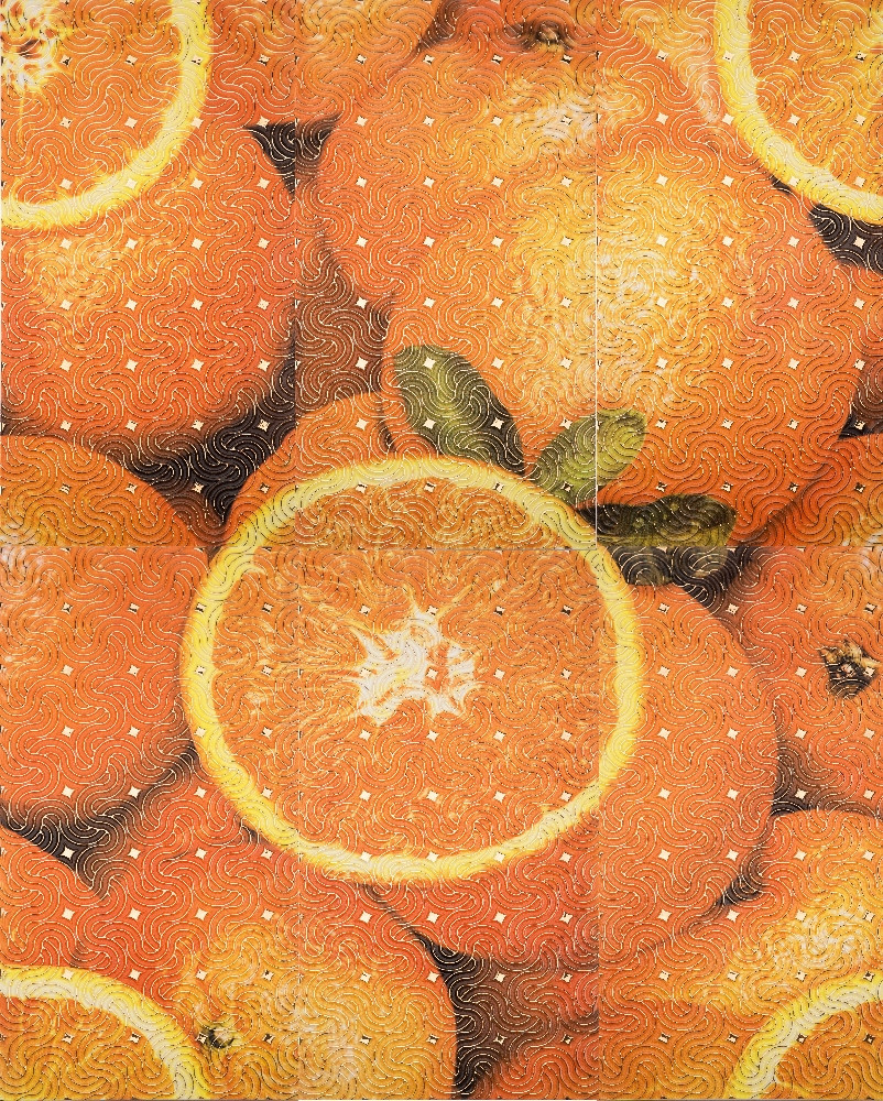 Декор-панно Orange Big 885x1190 D6/G