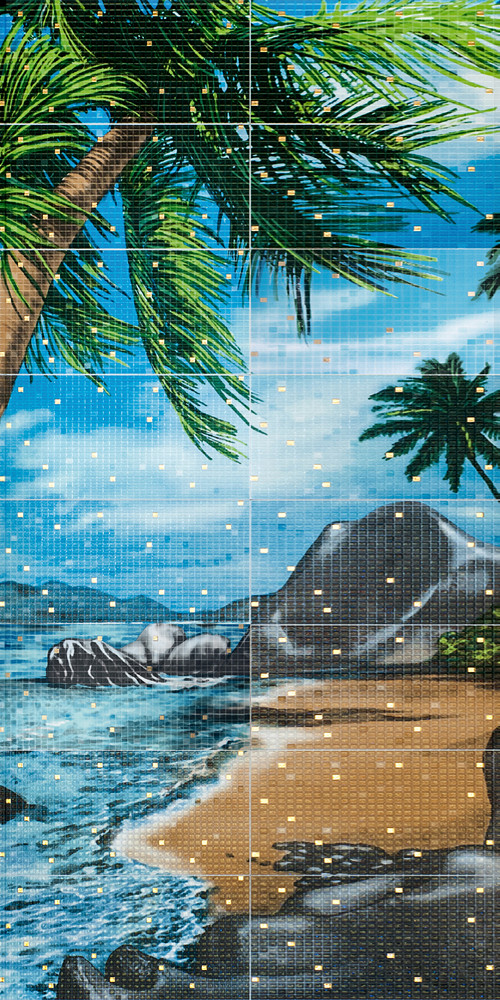 Декор-панно Shore 1190x2360 D6/G
