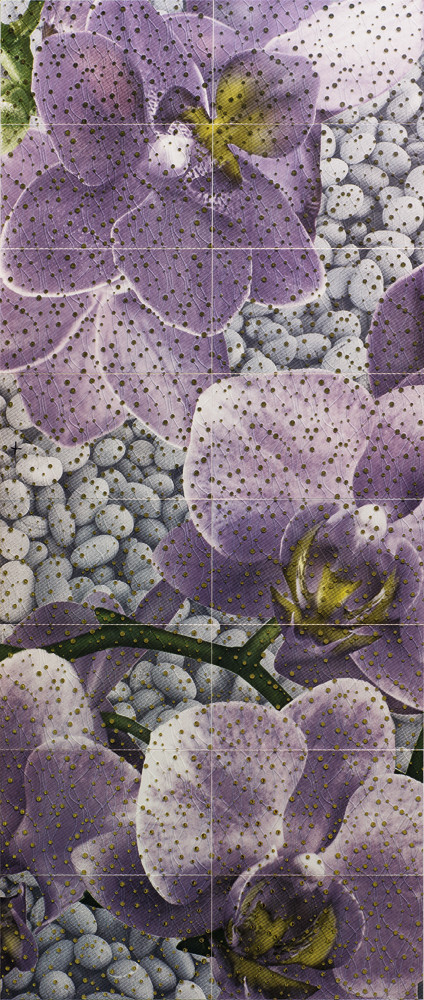 Декор-панно Violas 1190x2360 D6 /G