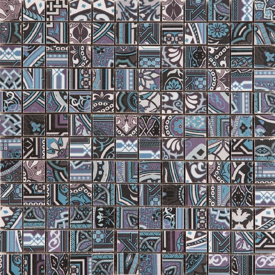 Мозаика Mos Aladdin Pattern BL 300x300 M2 /12
