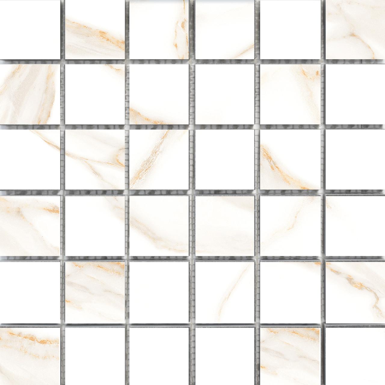 Мозаика Мозаика 300x300 Mos Calacatta Gold M4 сорт 1