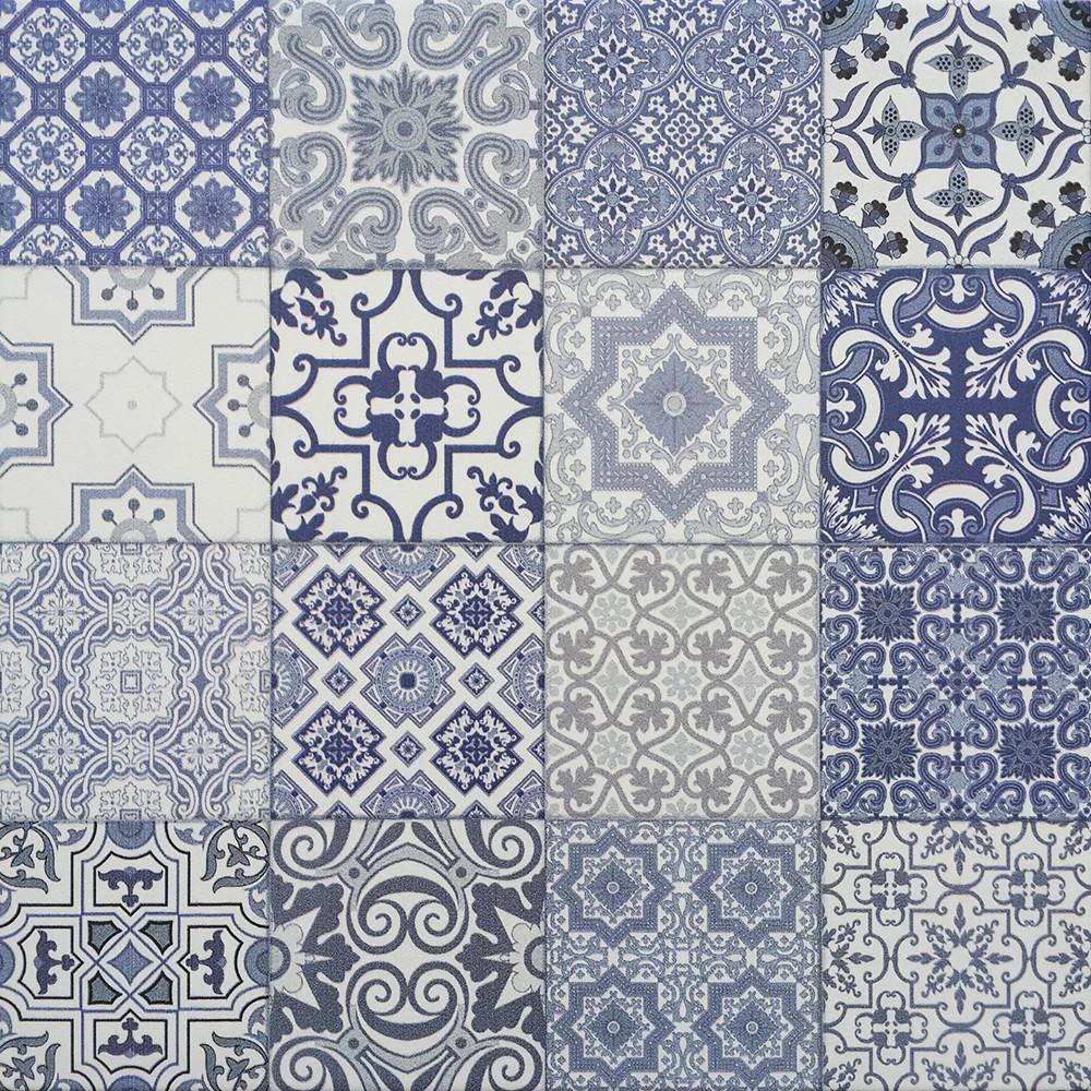 Плитка для пола глазурованная Izmir BL 400x400 /9