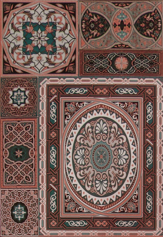 Плитка облицовочная Aladdin Pattern Mix M 275x400