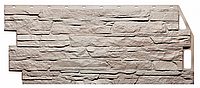 Фасадные панели Бежевый 1090x460 мм ( 0,43 м2) Скала FINEBER