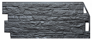 Фасадные панели Кварцевый 1090x460 мм ( 0,43 м2) Скала FINEBER