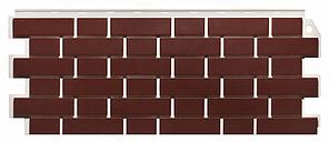 Фасадные панели Britt коричневый 1130x463 мм ( 0,47 м2) Кирпич облицовочный   FINEBER