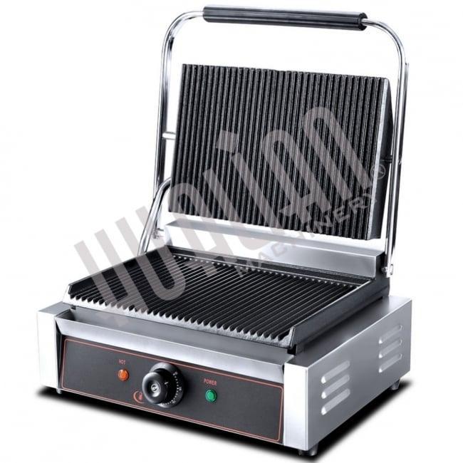 Контактный прижимной электрогриль HEG-811E